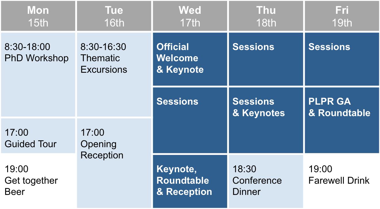 Programm der Konferenz