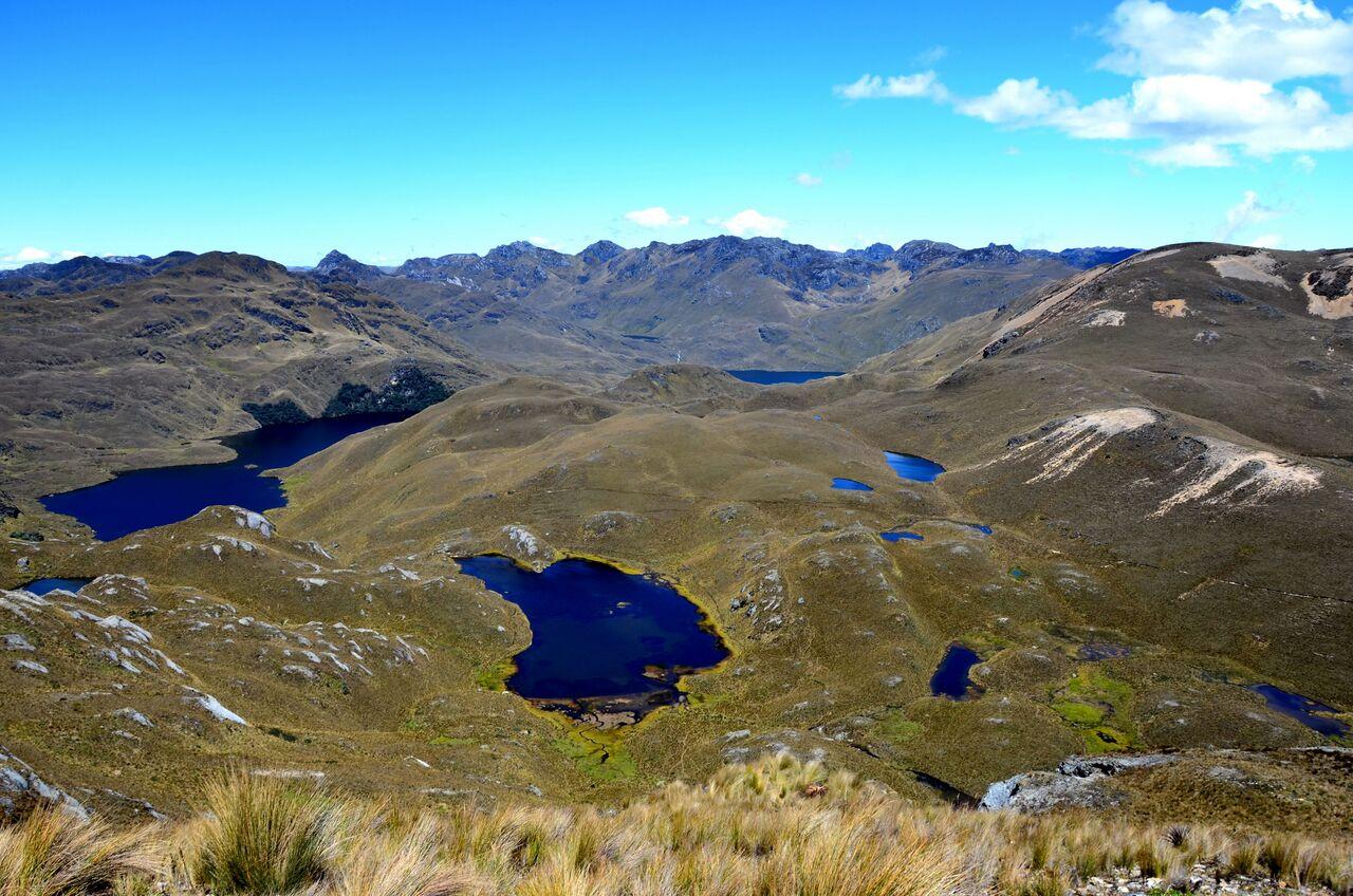 Seenlandschaft des Nationalpark Cajas, Ecuador