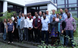 participants at african forest and drylands Workshop