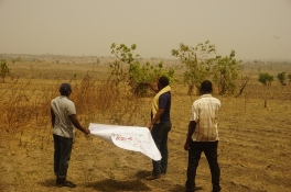Fieldwork mapping Land Degradation in Nigeria